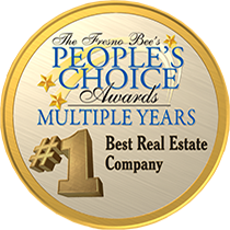 Fresno Bee People's Choice Award Winner - #1 Best Real Estate Company